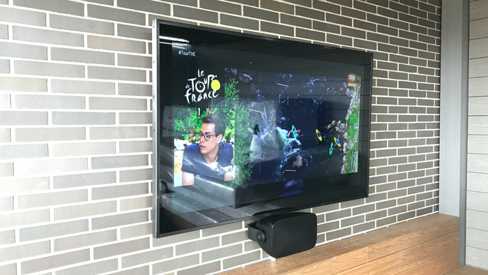 Residential Outdoor TV